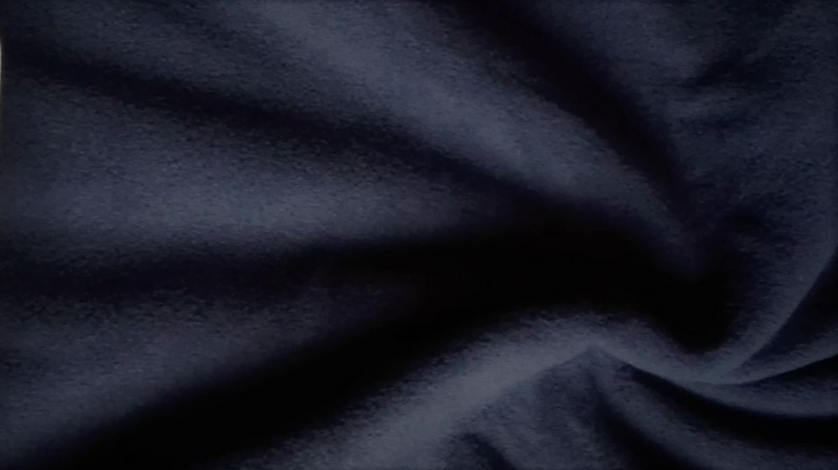 jednobarevný fleece tmavě modrý