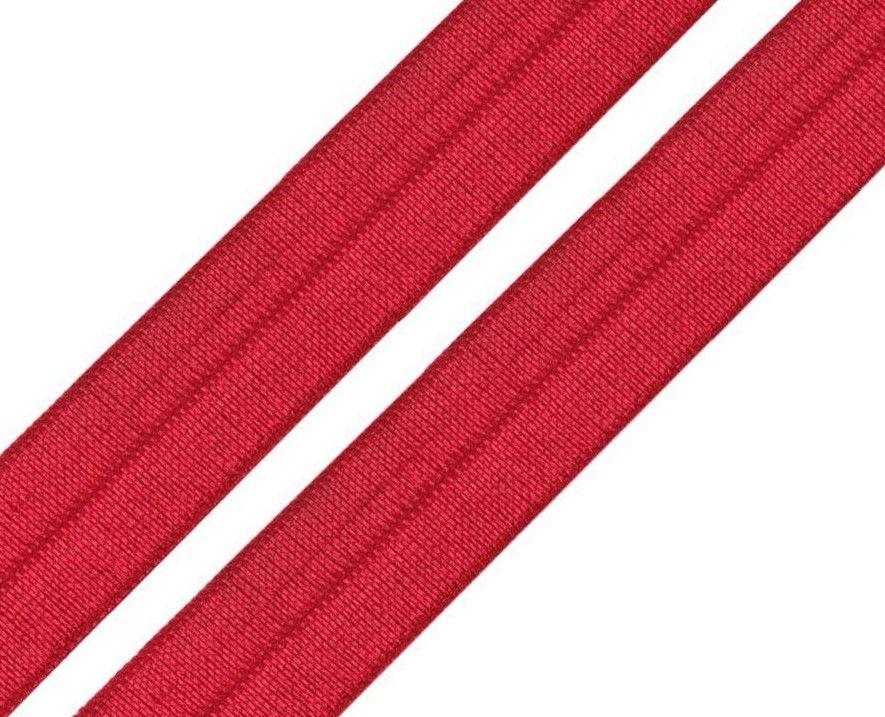 Pruženka lemovací červená 18mm