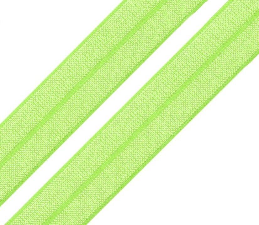 Pruženka lemovací svítivě zelená 18mm