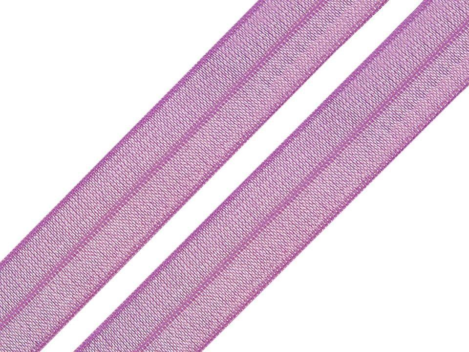Pruženka lemovací fialová 18mm