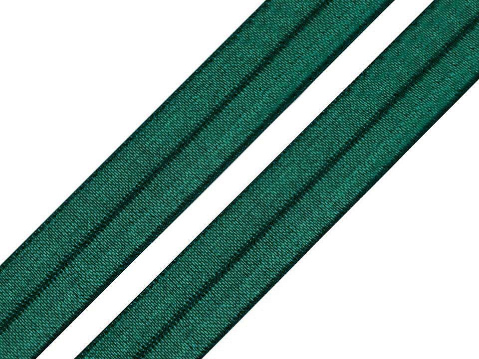 Pruženka lemovací tmavě zelená 18mm