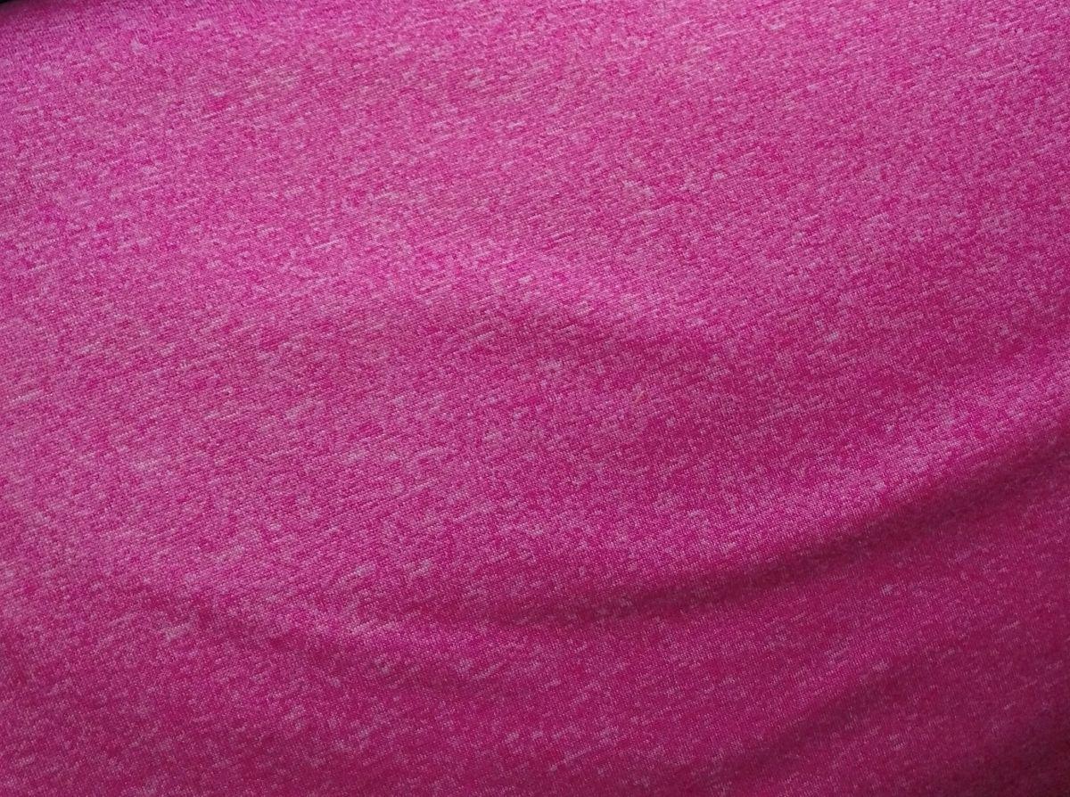 Softshell zimní s potiskem růžový melír
