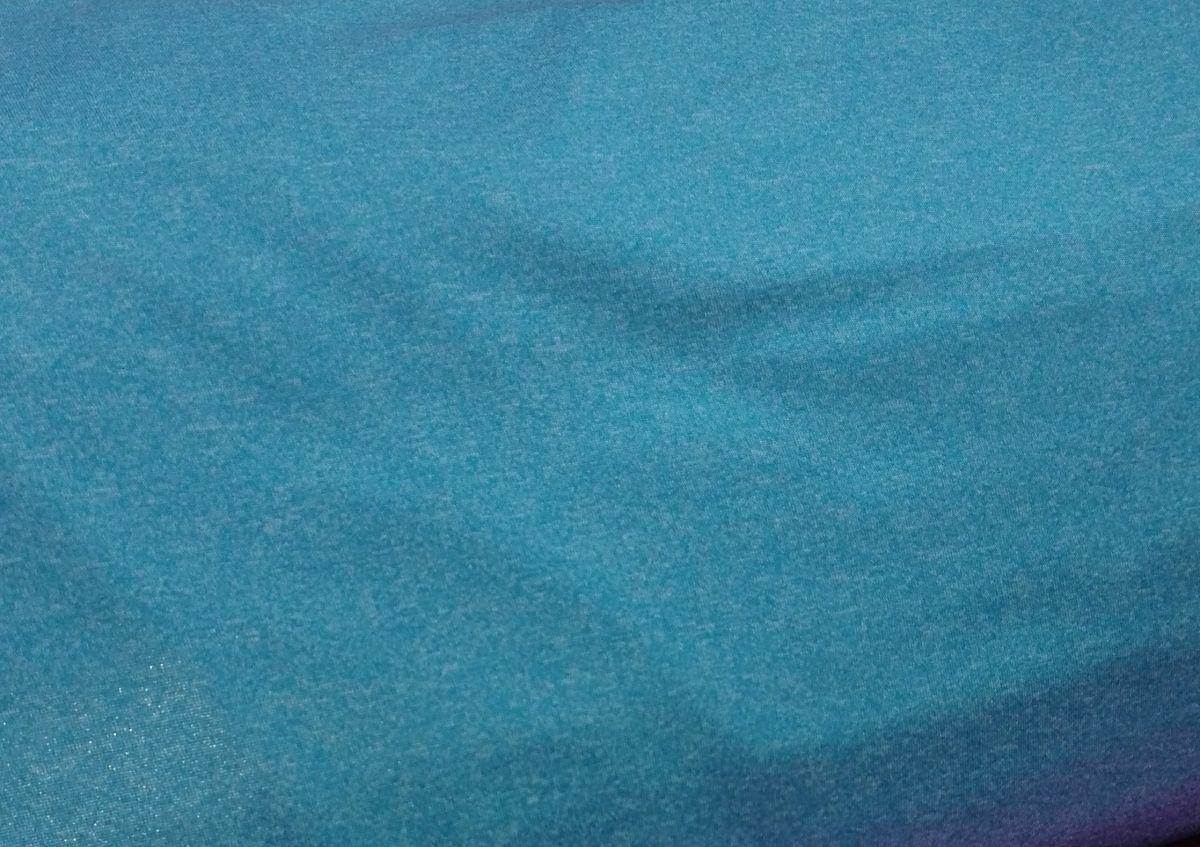 Softshell zimní s potiskem tyrkys melír