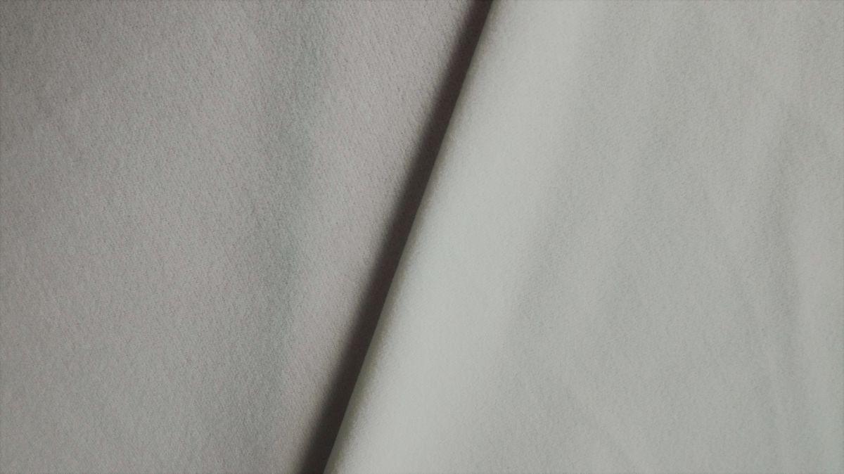 Kojenecký plyš - samet smetanový