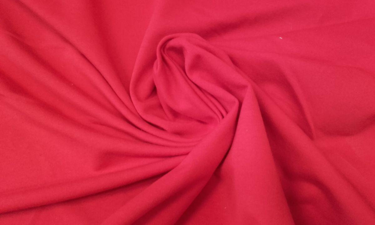 Elastický úplet jasně červený