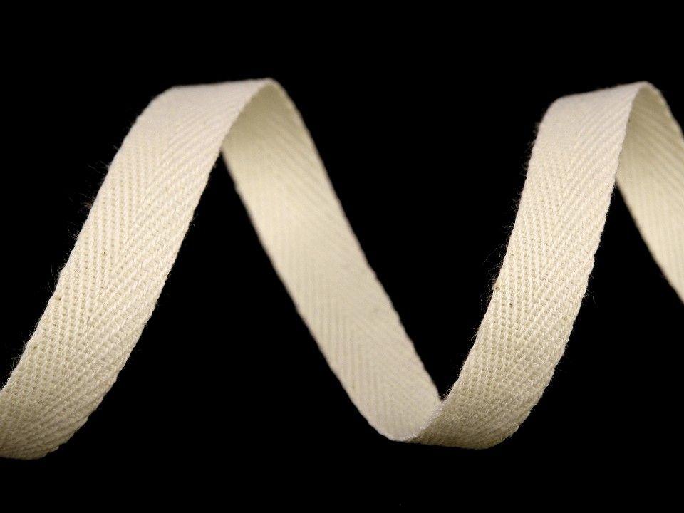 Keprovka bavlněná režná, šíře 10 mm