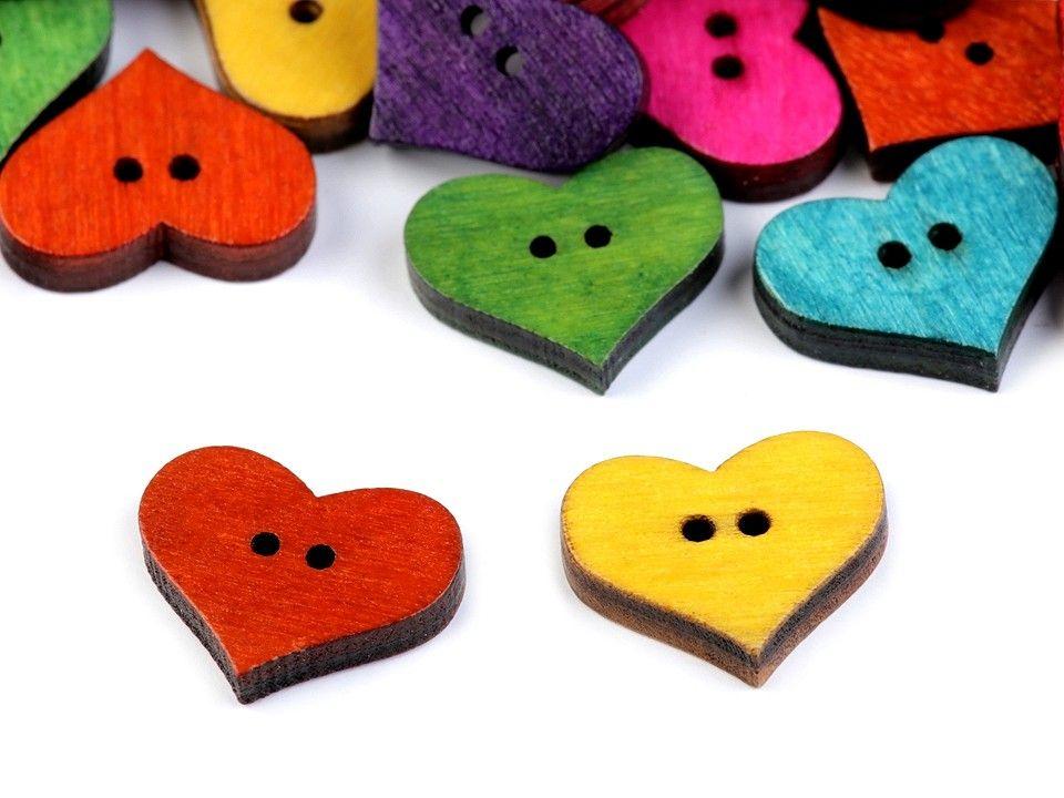 Knoflík srdce