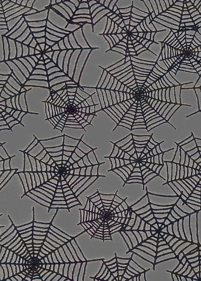 Teplákovina s elastanem pavučiny na šedé