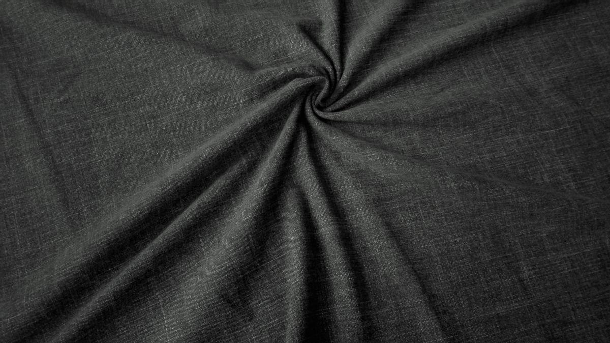 Teplákovina s elastanem černá riflovina