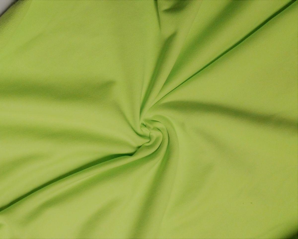 Teplákovina s elastanem kiwi