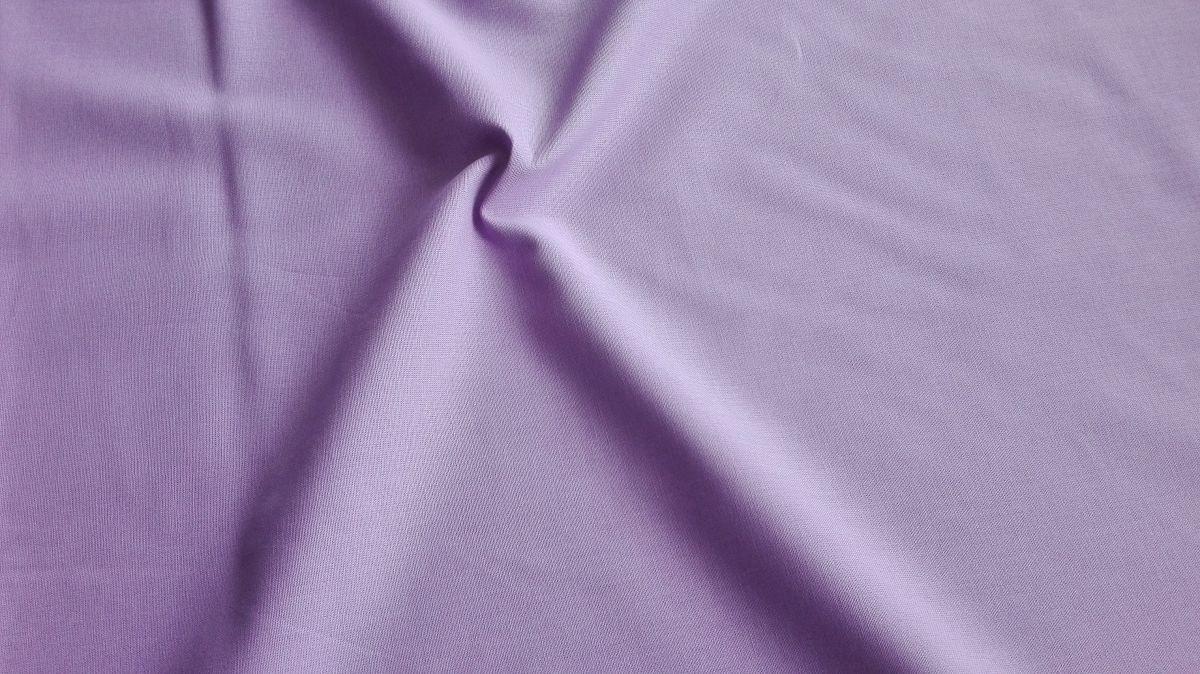 Plátno jednobarevné světle fialové