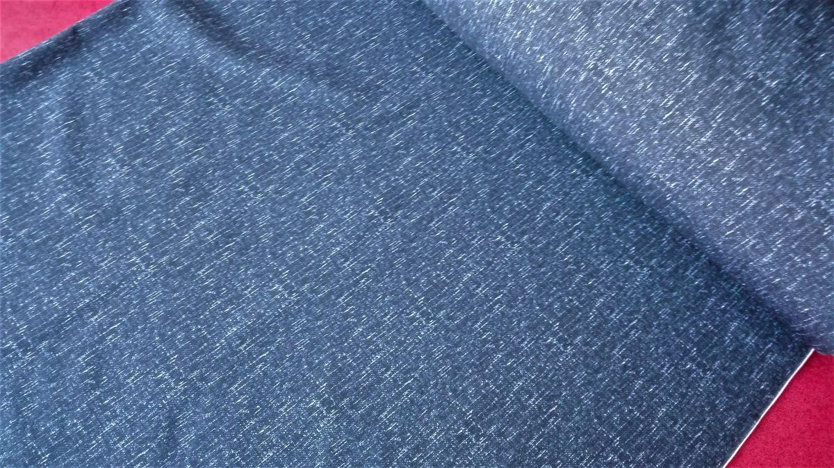 Softshell zimní s potiskem modrý žíhaný tisk
