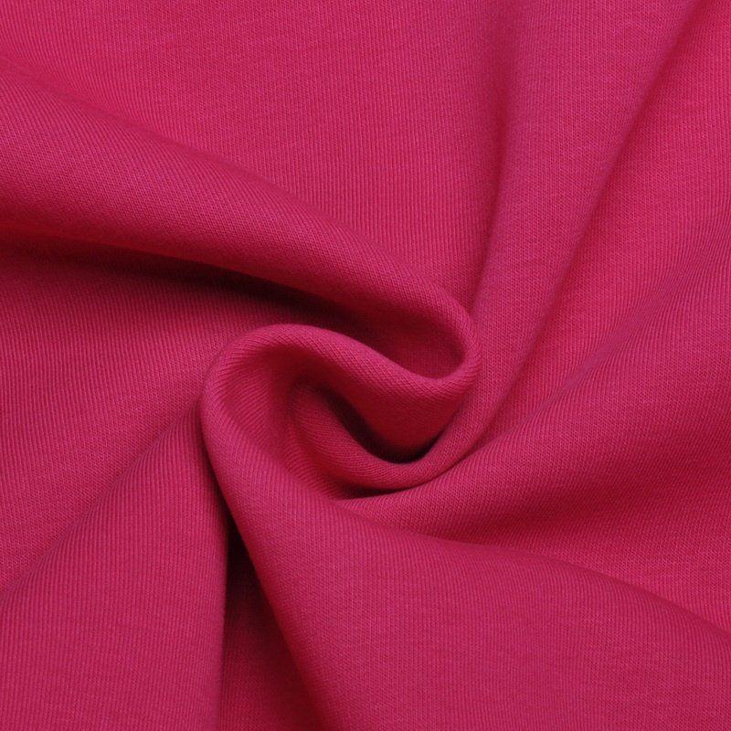 Elastický úplet tmavě růžový jednolíc
