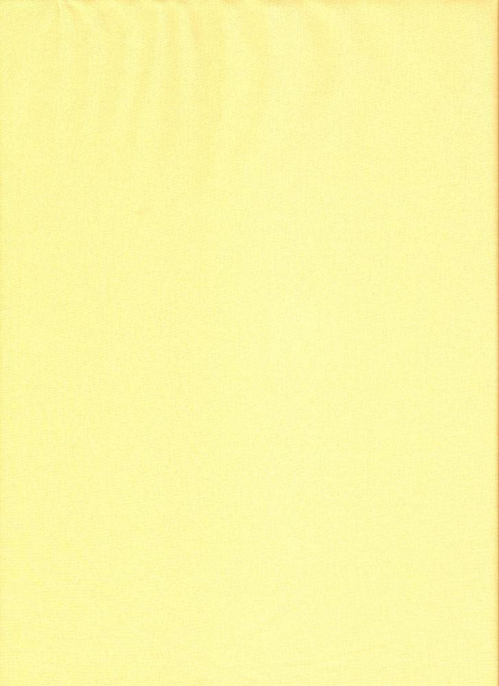 Elastický úplet světle žlutý jednolíc