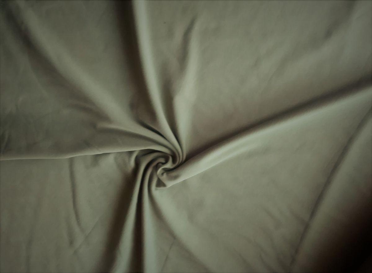 Teplákovina s elastanem khaki