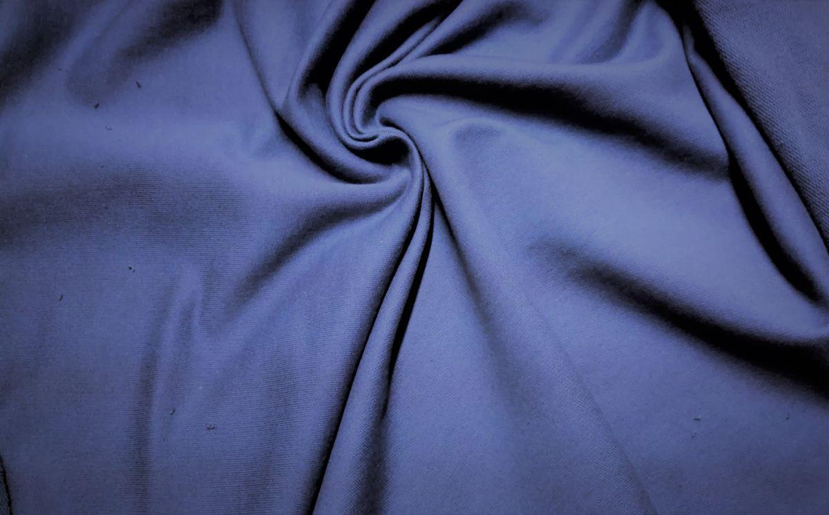 Teplákovina s elastanem královsky modrá