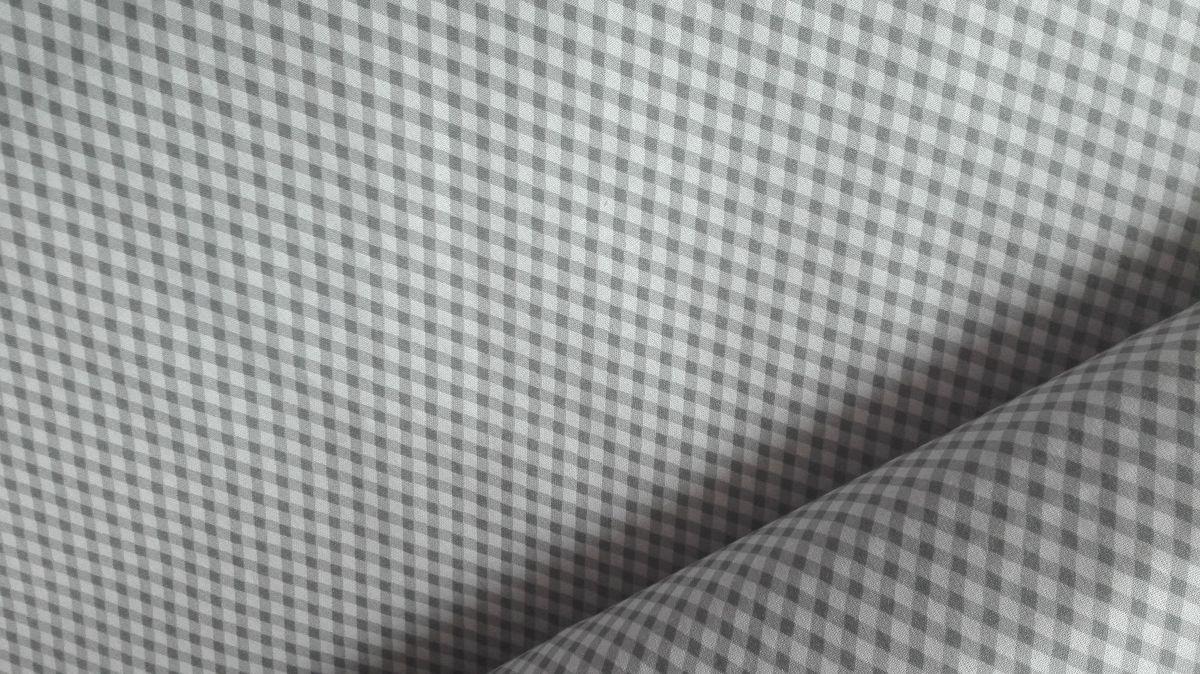 plátno s potiskem šedobílé kárko