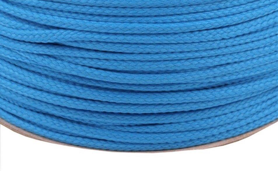 Kulatá šňůrka středně modrá