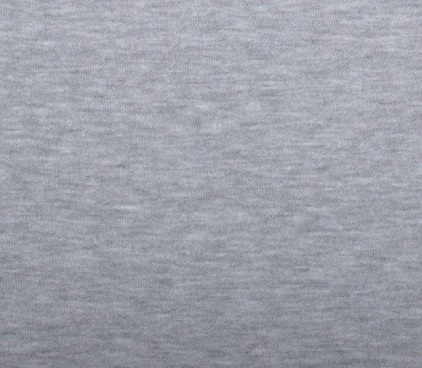 Elastický úplet jednolíc šedý melír