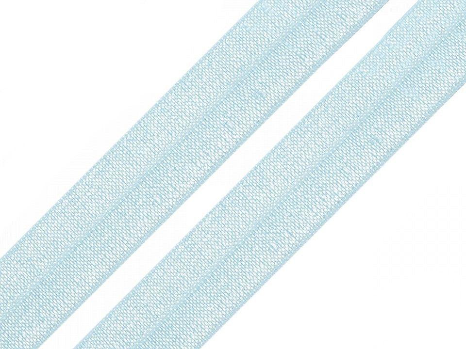 Pruženka lemovací světle modrá 20mm