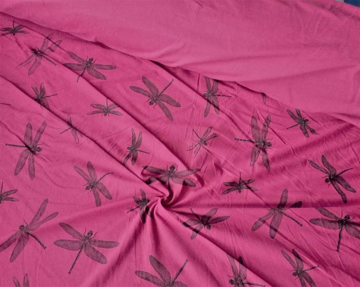 Elastický úplet vážky barva bobule