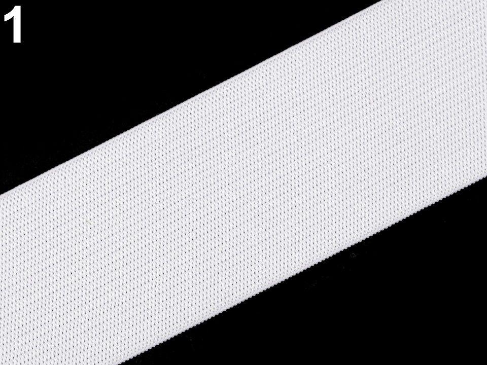 Pruženka hladká bílá 45 mm