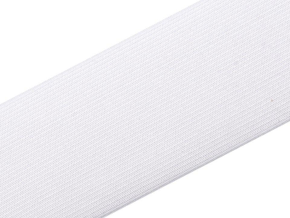 Pruženka hladká bílá 75 mm